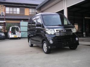 アトレーワゴン カスタムターボR ブラックエディション