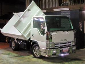エルフトラック フルフラットロー三転強化ダンプ